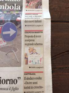 15ottobre Prima Pagina Corriere Rimini Maestri