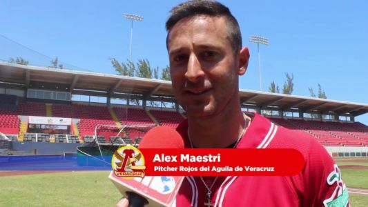 Alex Maestri - Baseball - Mexican League Veracruz (5)
