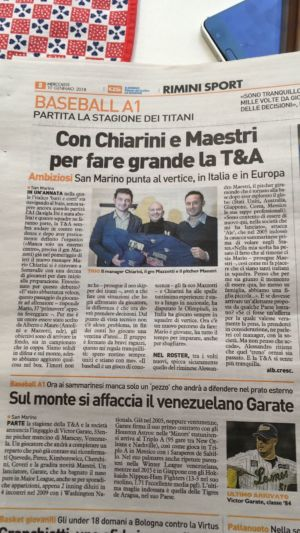 Quotidiano Sportivo - Gennaio 2018