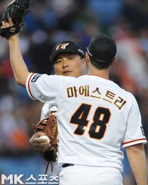 Alessandro Maestri Eagles Korean Baseball (4)