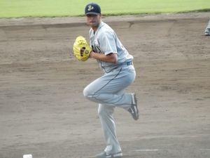 Alex Maestri Pitcher Japan Buffaloes 2014 (113)