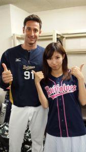 Alex Maestri Pitcher Japan Buffaloes 2014 (145)