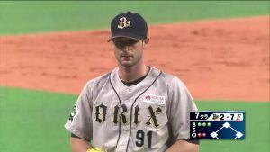 Alex Maestri Pitcher Japan Buffaloes 2014 (14)