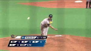 Alex Maestri Pitcher Japan Buffaloes 2014 (15)