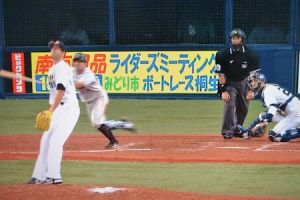 Alex Maestri Pitcher Japan Buffaloes 2014 (176)
