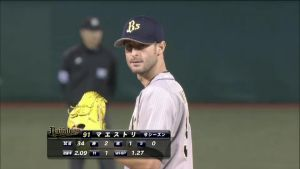 Alex Maestri Pitcher Japan Buffaloes 2014 (19)