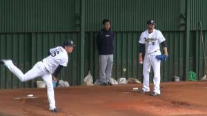 Alex Maestri Pitcher Japan Buffaloes 2014 (210)