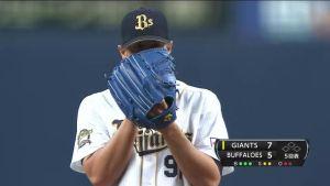 Alex Maestri Pitcher Japan Buffaloes 2014 (214)
