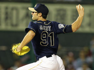 Alex Maestri Pitcher Japan Buffaloes 2014 (22)