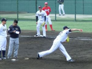 Alex Maestri Pitcher Japan Buffaloes 2014 (241)
