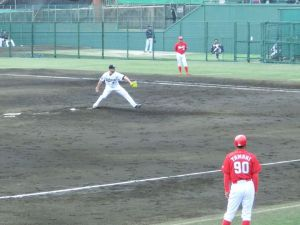 Alex Maestri Pitcher Japan Buffaloes 2014 (242)