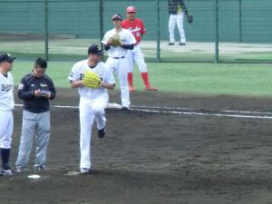 Alex Maestri Pitcher Japan Buffaloes 2014 (246)