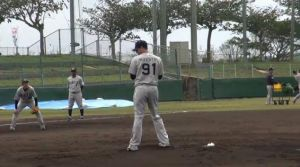 Alex Maestri Pitcher Japan Buffaloes 2014 (249)