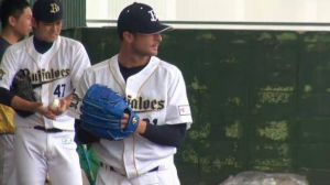 Alex Maestri Pitcher Japan Buffaloes 2014 (282)