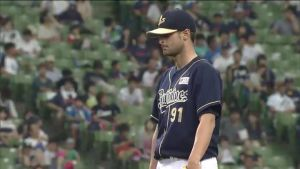 Alex Maestri Pitcher Japan Buffaloes 2014 (286)