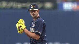 Alex Maestri Pitcher Japan Buffaloes 2014 (28)