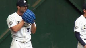Alex Maestri Pitcher Japan Buffaloes 2014 (291)