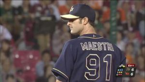 Alex Maestri Pitcher Japan Buffaloes 2014 (29)