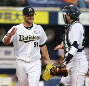 Alex Maestri Pitcher Japan Buffaloes 2014 (305)