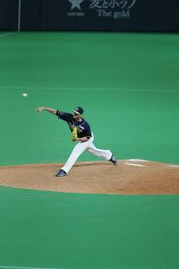Alex Maestri Pitcher Japan Buffaloes 2014 (307)