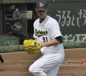 Alex Maestri Pitcher Japan Buffaloes 2014 (316)