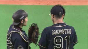 Alex Maestri Pitcher Japan Buffaloes 2014 (31)