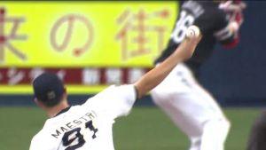 Alex Maestri Pitcher Japan Buffaloes 2014 (40)