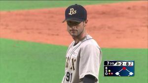 Alex Maestri Pitcher Japan Buffaloes 2014 (4)
