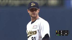 Alex Maestri Pitcher Japan Buffaloes 2014 (74)