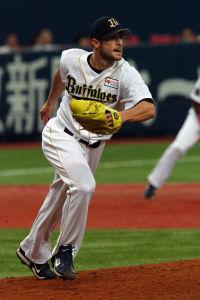 Alex Maestri Pitcher Japan Buffaloes 2014 (78)