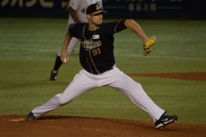 Alex Maestri Pitcher Japan Buffaloes 2014 (80)
