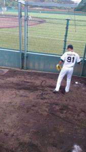 Alex Maestri Pitcher Japan Buffaloes 2014 (90)