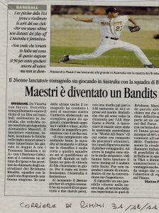 Corriere Rimini 31 Ottobre 2011