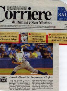 Corriere Rimini Luglio 2009