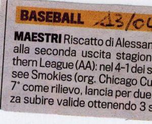 Gazzetta 13 Aprile 2010