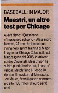 Gazzetta 21 Dicembre 2009