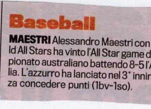Gazzetta 25 Dicembre 2011