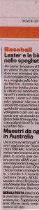 Gazzetta 26 Ottobre 2011