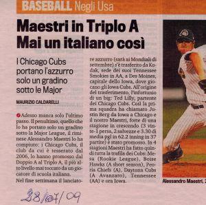 Gazzetta 28 Luglio 2009