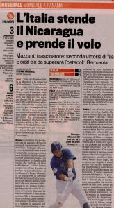 Gazzetta 28 Ottobre 2011