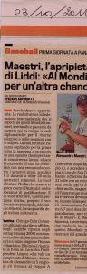 Gazzetta 3 Ottobre 2011
