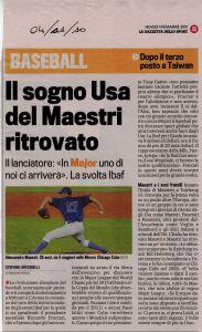 Gazzetta 4 Novembre 2011