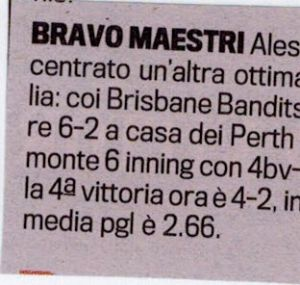 Gazzetta 6 Gennaio 2012