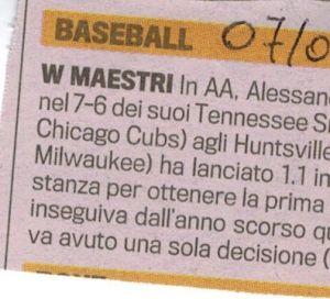 Gazzetta 7 Luglio 2010