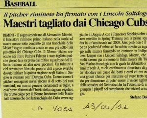 La Voce 13 Aprile 2011