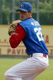Alessandro Maestri nel San Marino baseball