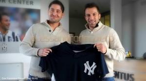 Alex Del Piero con Cervelli