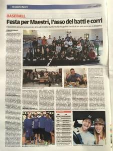 Promuovere il baseball in Toscana
