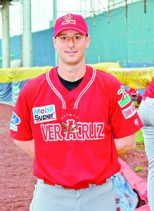 Mexican League Alex Maestri Rojos del Aguila