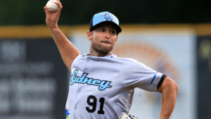 Alessandro Maestri Blue Sox Pitcher